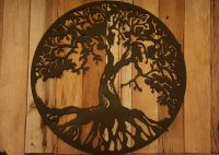 Tree of life Metal Wall Art Hanging Home Decor Rustic ...