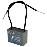 HQRP Motor Ceiling Fan Capacitor 20uF 2-Wire 250V CBB61 ...
