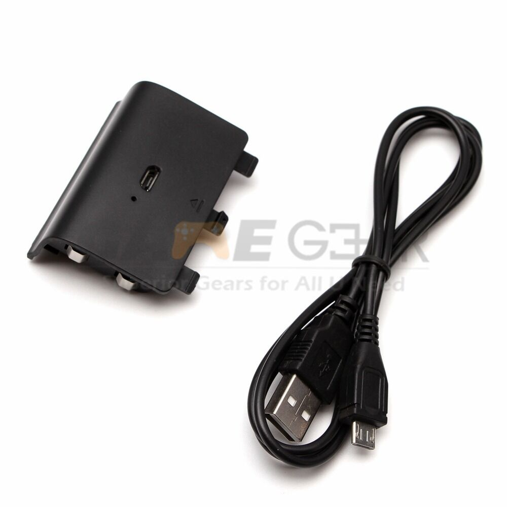 hight resolution of  xbox one controller usb rechargeable battery pack 1200mah usb charger cable for