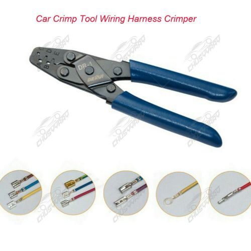 small resolution of details about 200mm car crimp tool wiring harness crimper dr 1 open barrel 10 22 awg plier