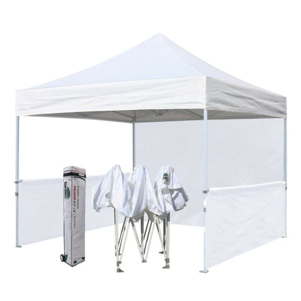 10x10 White Ez Pop Canopy Commercial Outdoor Vendor Craft Show Booth Tent 600022006204