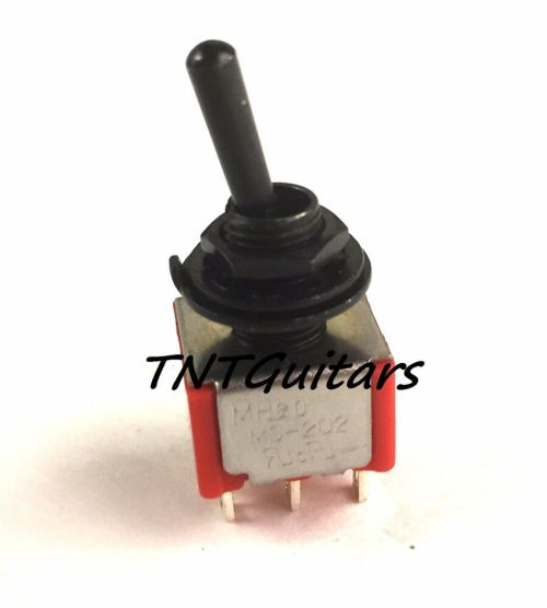 small resolution of details about mini switch 3 way toggle style guitar pickup selector dpdt on off on black