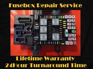 20032006 Ford EXPEDITION Fuse Box Fuel Pump Relay Repair