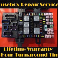 2003 Ford Expedition Parts Diagram Typical Residential Wiring 2003-2006 Lincoln Navigator Fuse Box Repair Service (fuel Pump Relay Repair) | Ebay