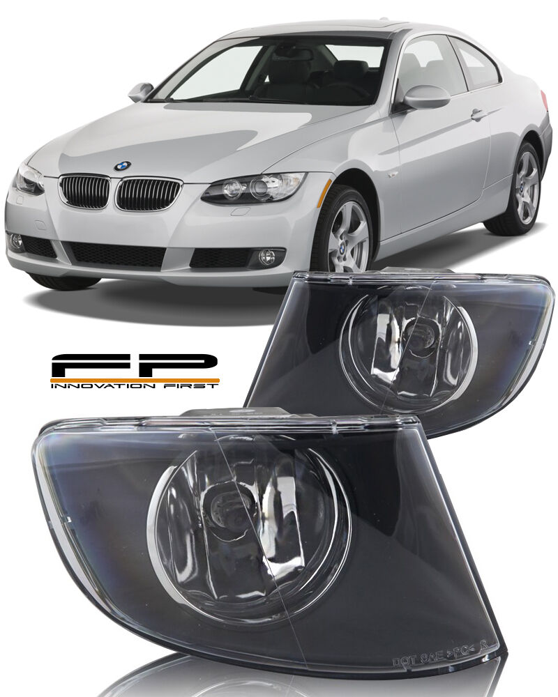 hight resolution of details about 2007 2011 bmw 3 series e92 e93 328i 335i coupe convertible fog lights clear pair