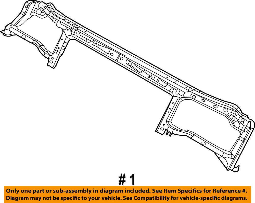 hight resolution of details about dodge chrysler oem challenger radiator core support upper tie bar 68174972ae