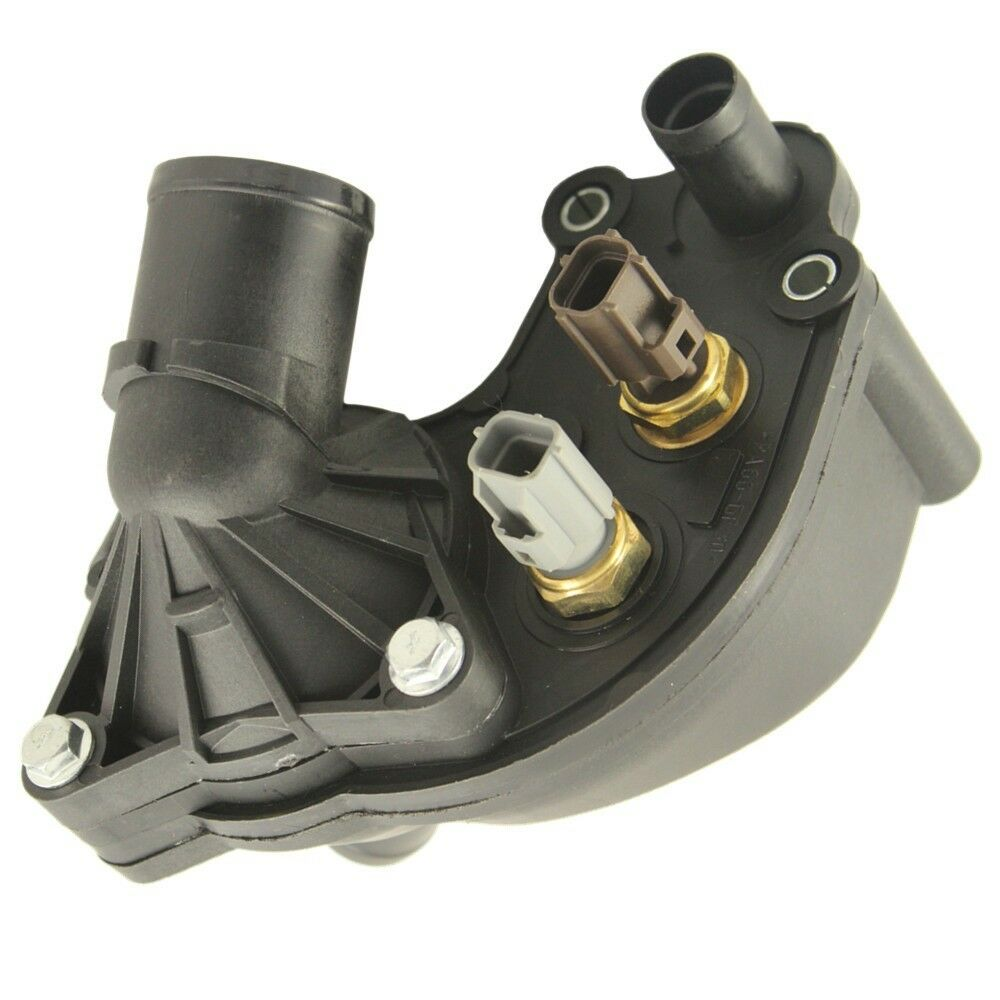 hight resolution of new thermostat housing with sensors for 97 01 ford explorer mountaineer 4 0l v6