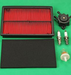 details about air filter fuel pump kit for honda gx620 gx610 gx670 18hp 20hp 24hp engine [ 1000 x 1000 Pixel ]