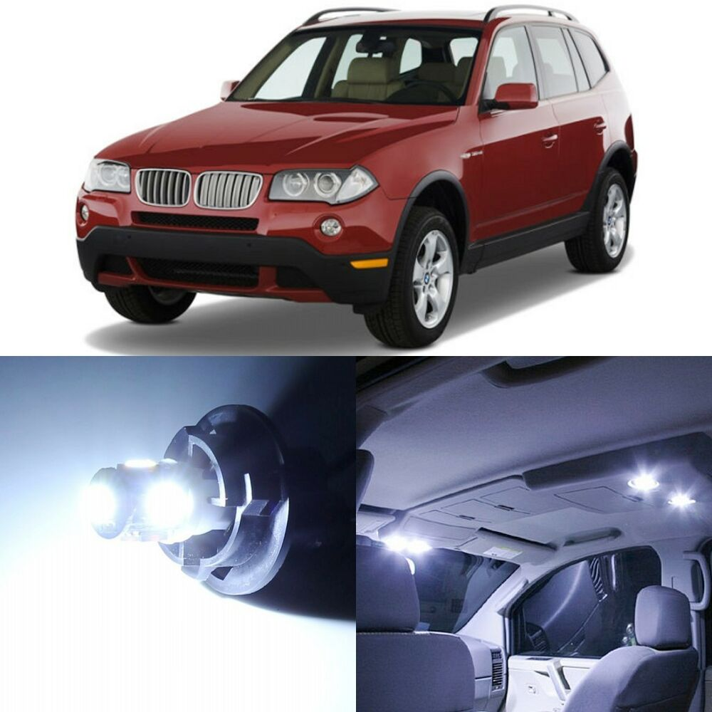 hight resolution of details about 17 x canbus xenon white interior led lights package for 2004 2010 bmw x3 tool