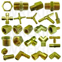 BSP TAPER THREAD x HOSE TAIL END CONNECTOR - BRASS FITTING ...
