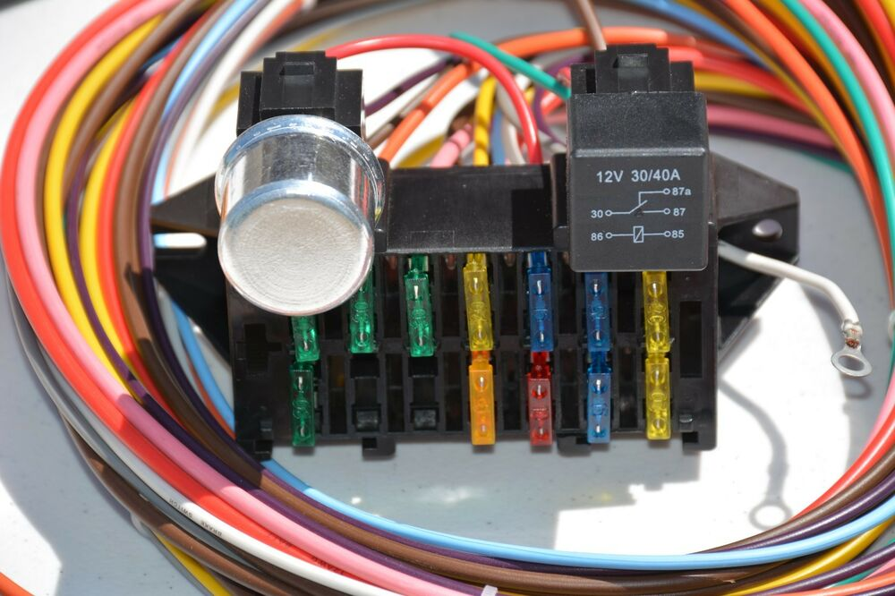 Keep It Clean 12 Circuit Basic Wire Harness Fuse Box