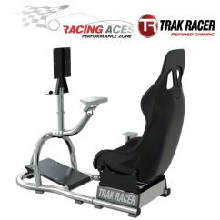 Hydraulic Racing Simulator Chair Ergonomic Guitarists Rs8 Game Cockpit Simulation Seat Race Gaming Details About Trak Racer