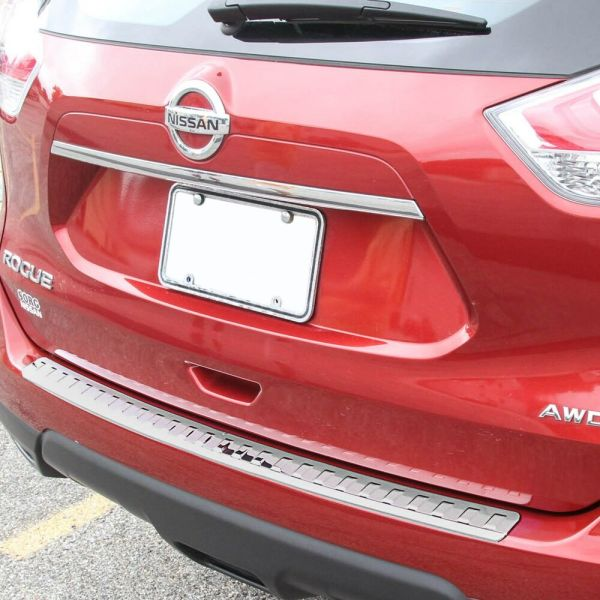 2013-2017 Fits Nissan Rogue Chrome Rear Bumper Protector Cover Scratch Exact 847227082613