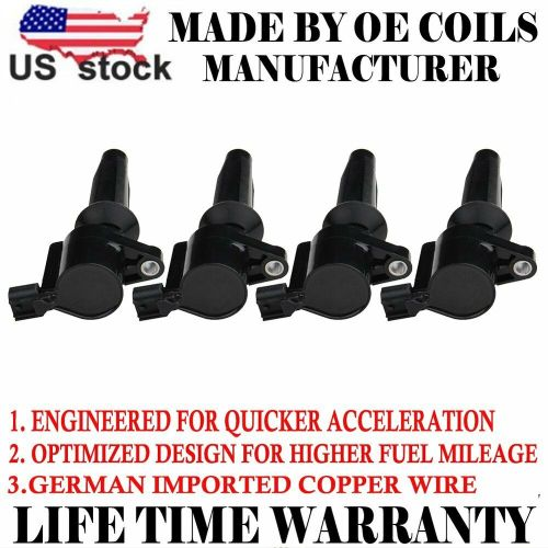 small resolution of details about 4 pack new premium high performance ignition coil for ford mazda mercury dg507