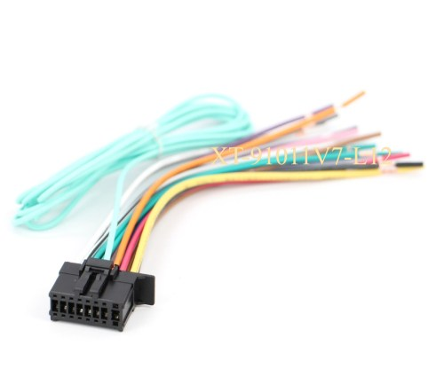 small resolution of xtenzi power cord harness speaker plug for pioneer avh4200nex avh4100 ebay