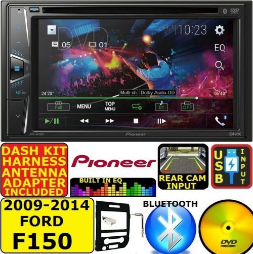 small resolution of 2009 14 ford f150 pioneer touchscreen cd dvd bluetooth usb car radio stereo pkg