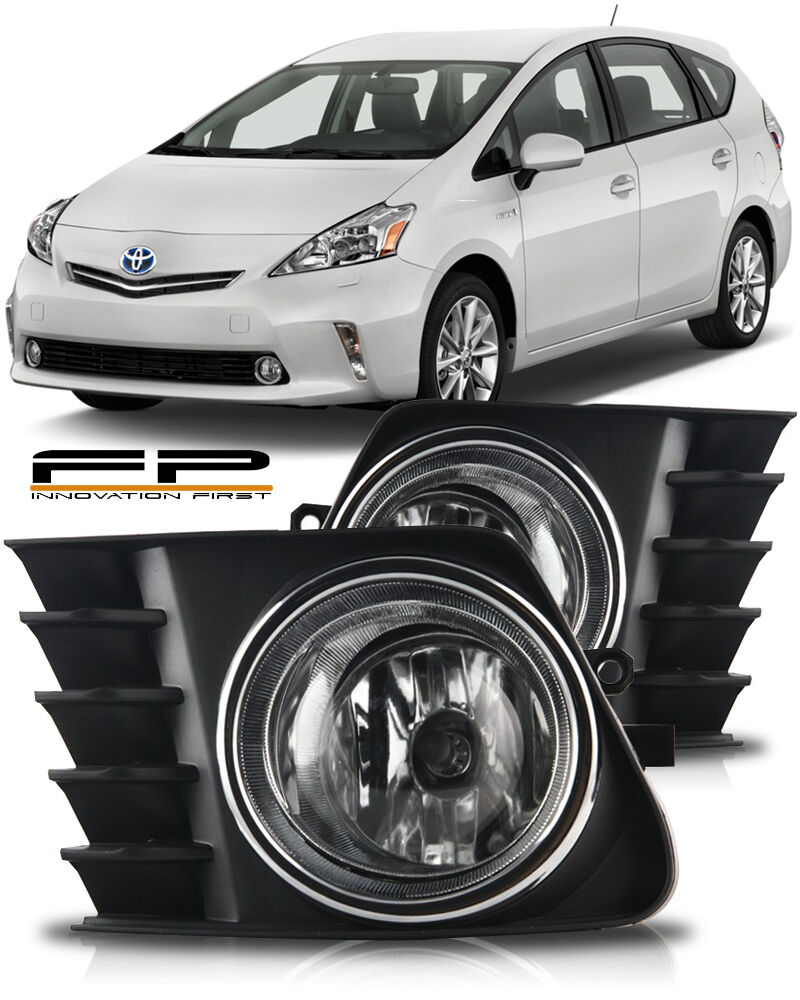 hight resolution of details about 2012 2013 2014 toyota prius v fog light clear bulb harness relay switch full kit