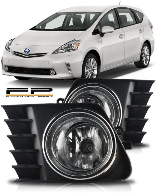 small resolution of details about 2012 2013 2014 toyota prius v fog light clear bulb harness relay switch full kit