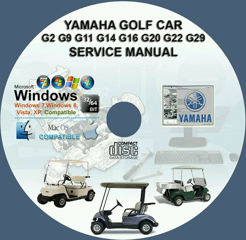 hight resolution of coche de golf yamaha g2 g9 g11 g14 g16 g19 g20 g22 g29ydr manual de servicio de reparaci n ebay