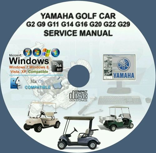 small resolution of coche de golf yamaha g2 g9 g11 g14 g16 g19 g20 g22 g29ydr manual de servicio de reparaci n ebay