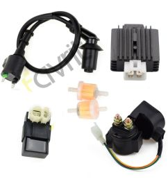 details about coil cdi solenoid relay voltage regulator for tomberlin crossfire 150 go kart [ 1000 x 1000 Pixel ]