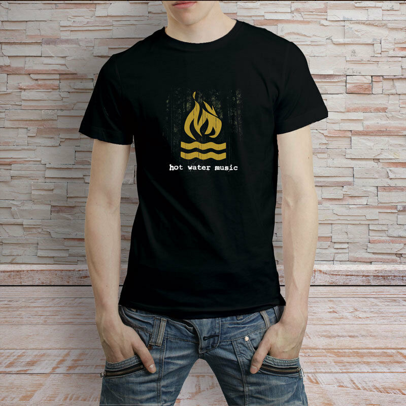 hot water music shirt intermediate switch wiring diagram logo punk rock band t tee ebay details about