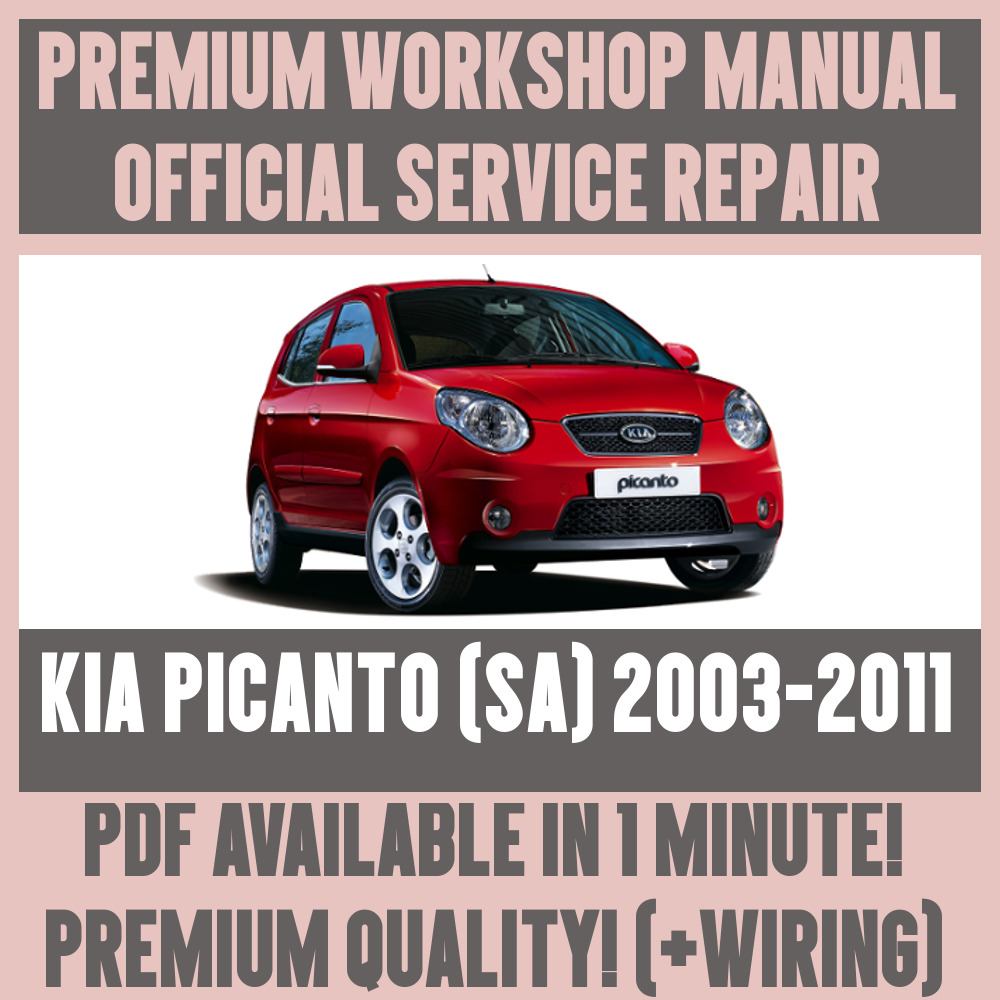 hight resolution of kia picanto wiring diagram pdf wiring library workshop manual service repair guide for kia