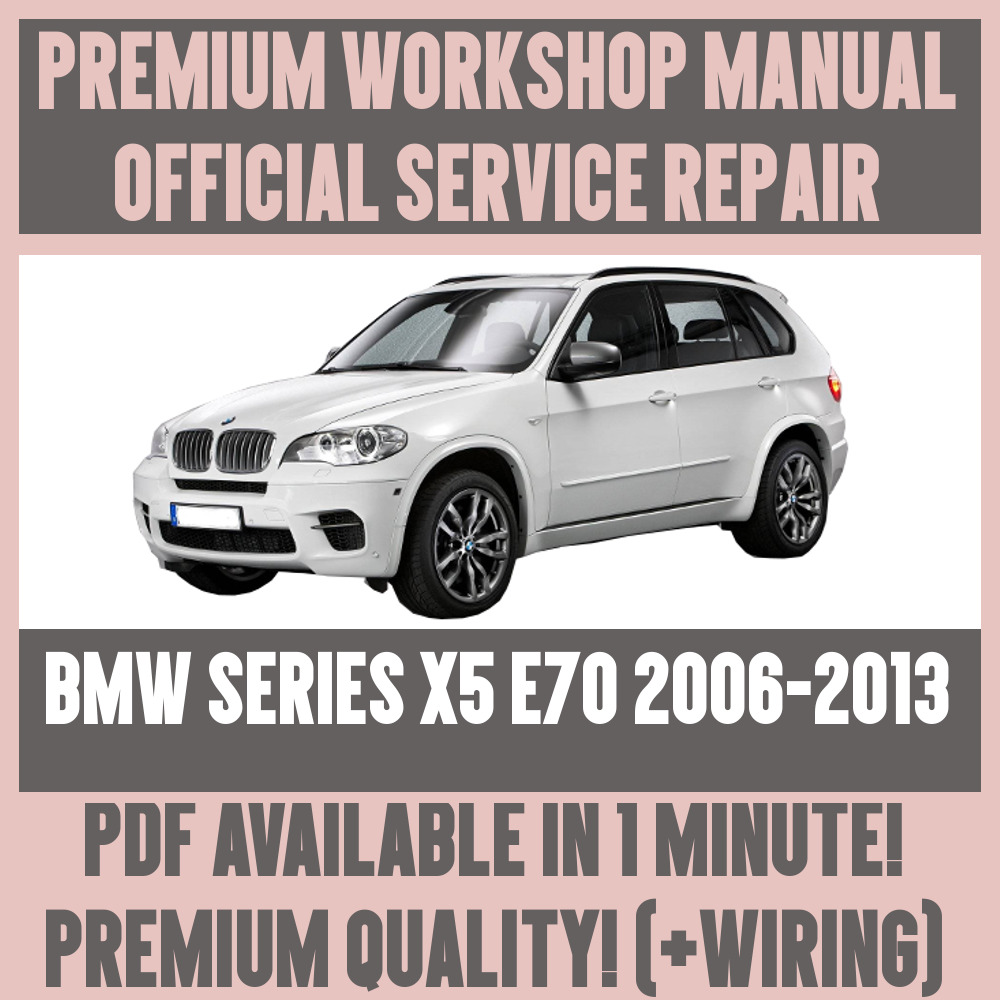 medium resolution of details about workshop manual service repair guide for bmw x5 e70 2006 2013 wiring diagram