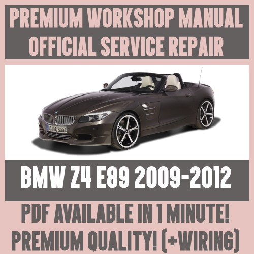 small resolution of details about workshop manual service repair guide for bmw z4 e89 2009 2012 wiring diagram