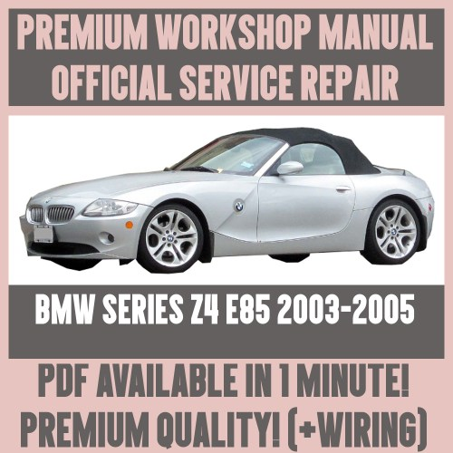 small resolution of  workshop manual service repair guide for bmw z4 e85 2003 2005 wiring