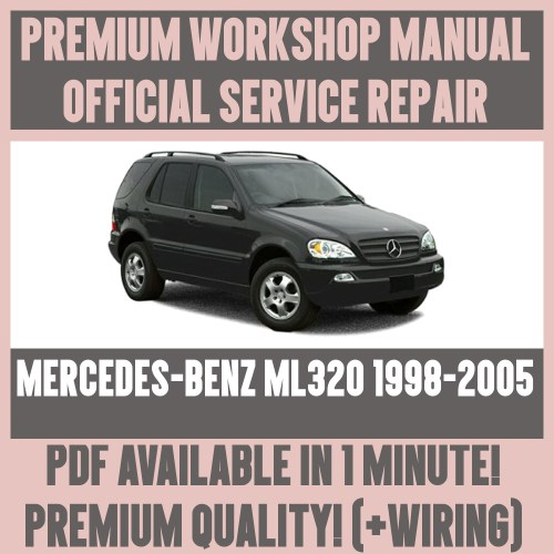 small resolution of details about workshop manual service repair guide for mercedes benz ml320 1998 2005 wiring