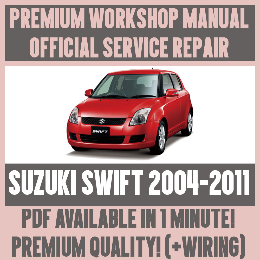 medium resolution of details about workshop manual service repair guide for suzuki swift 2004 2011 wiring