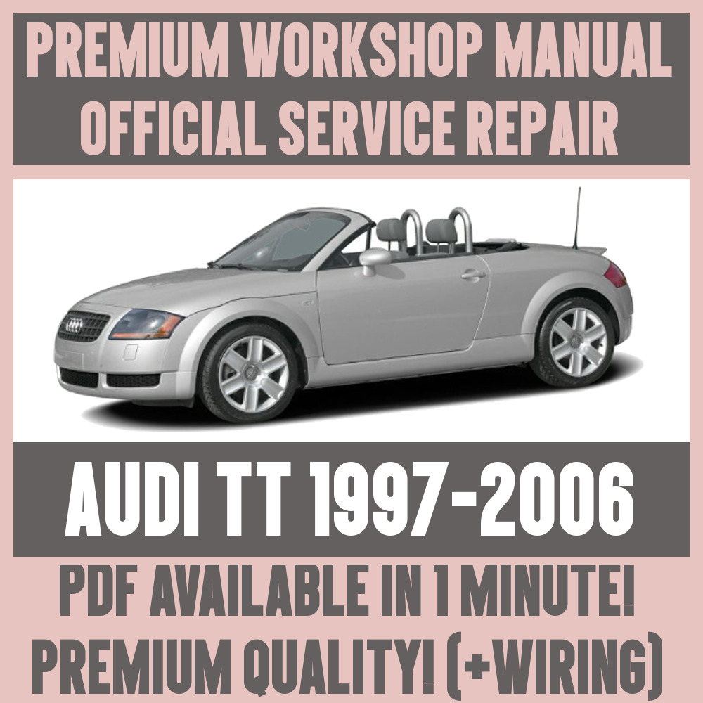 hight resolution of details about workshop manual service repair guide for audi tt 1997 2006 wiring