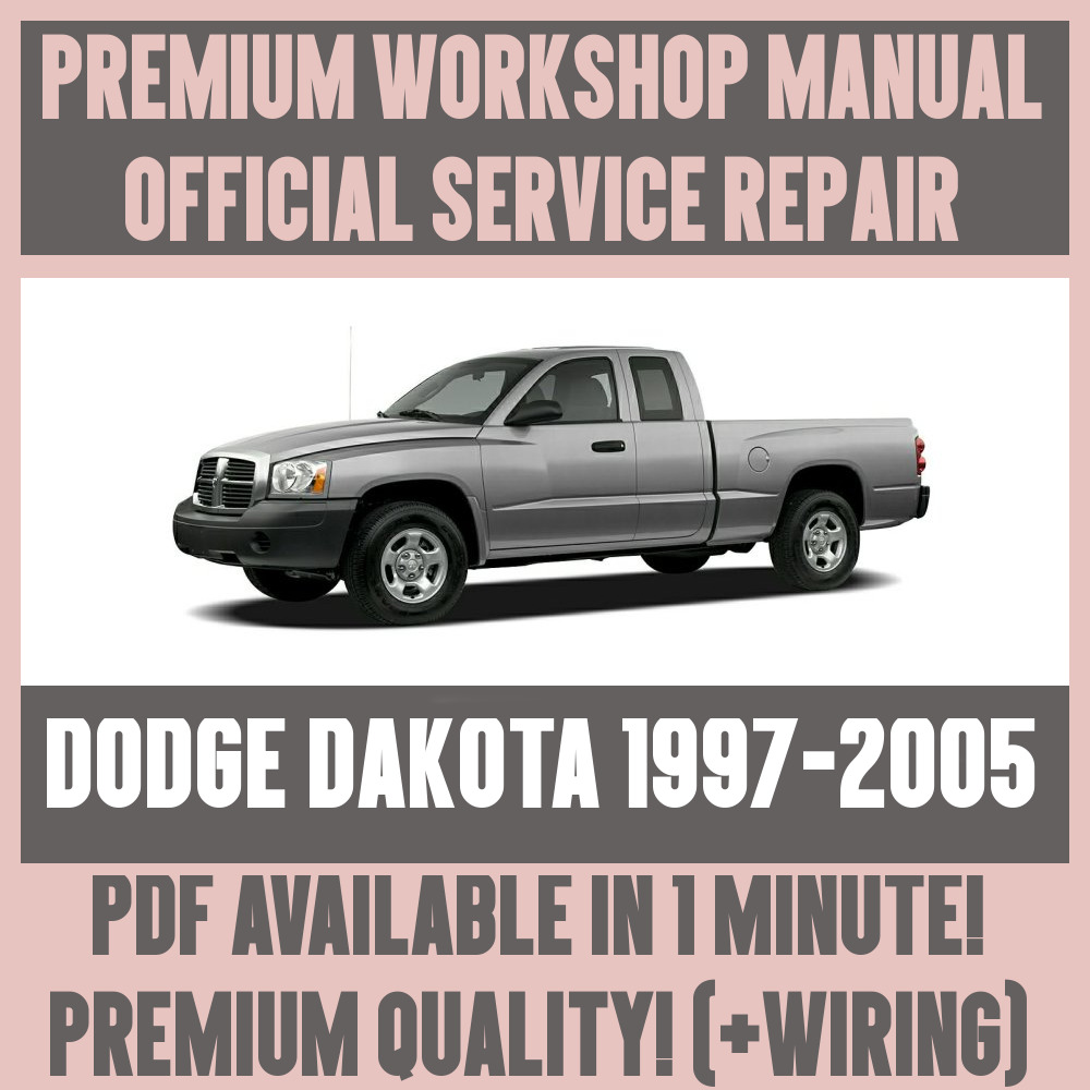 medium resolution of details about workshop manual service repair guide for dodge dakota 1997 2005 wiring