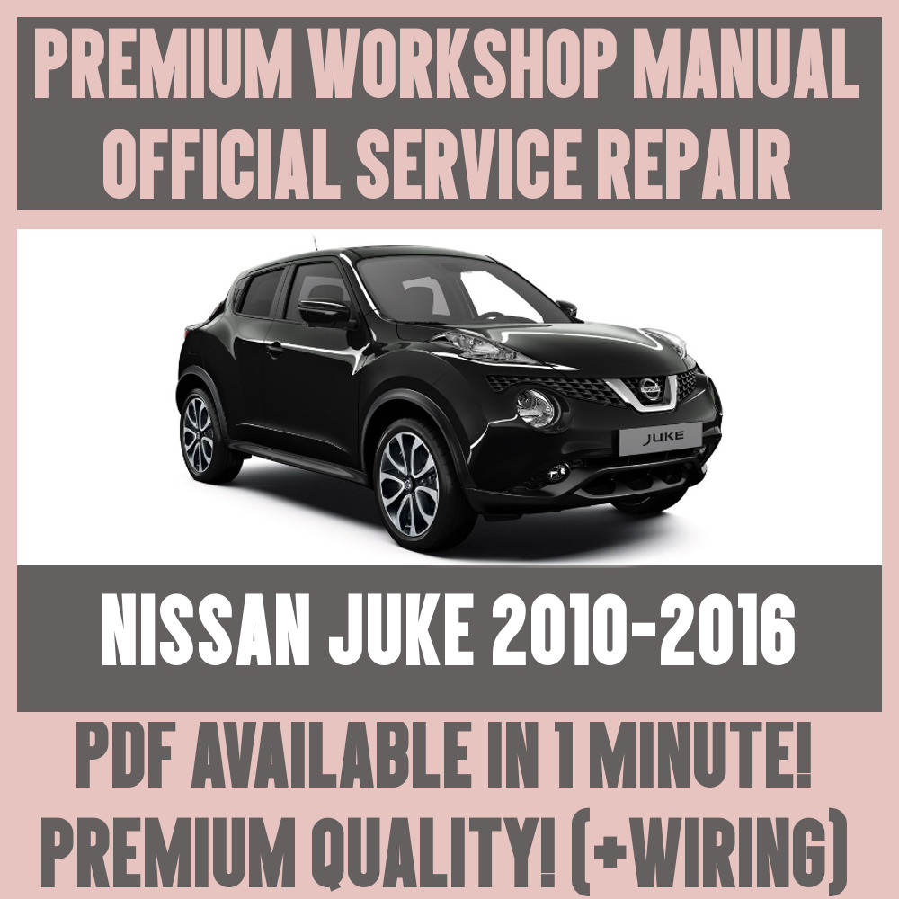medium resolution of details about workshop manual service repair guide for nissan juke 2010 2016 wiring