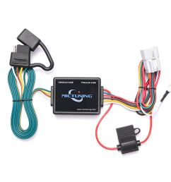 7ft trailer wiring harness with 4 pin flat connector for subaru forester outback 6970544442236  [ 1000 x 1000 Pixel ]