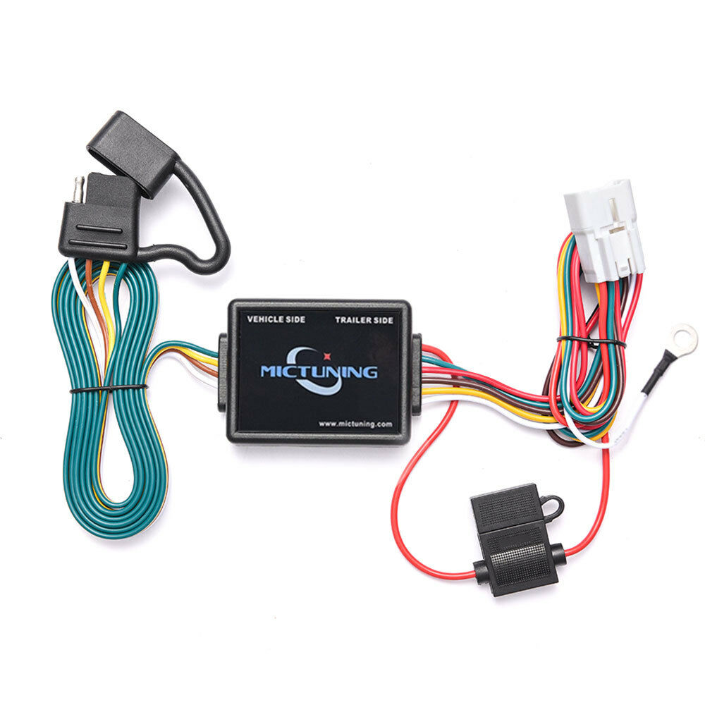 medium resolution of 7ft trailer wiring harness with 4 pin flat connector for subaru forester outback 6970544442236