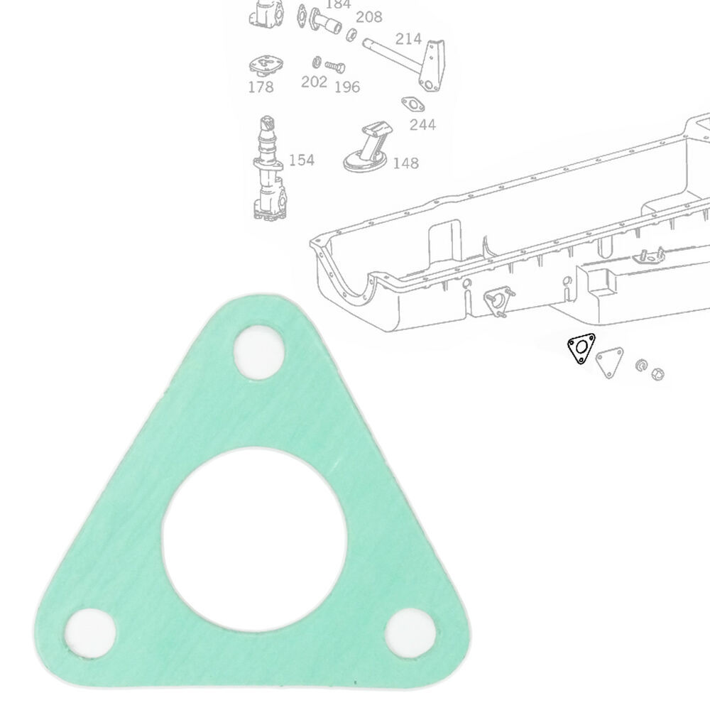 medium resolution of details about engine housing oil pan water pipe gasket seal fits mercedes benz 3550180280