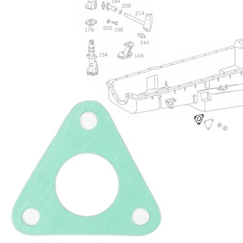 small resolution of details about engine housing oil pan water pipe gasket seal fits mercedes benz 3550180280