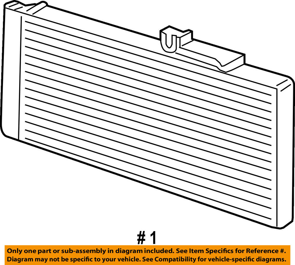 hight resolution of details about dodge chrysler oem 07 09 ram 3500 air conditioner a c ac condenser 55057095aa