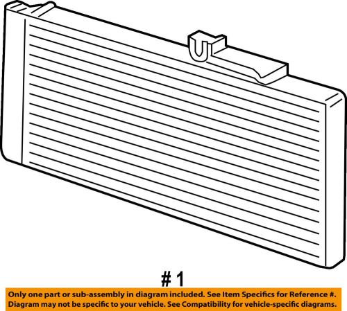 small resolution of details about dodge chrysler oem 07 09 ram 3500 air conditioner a c ac condenser 55057095aa