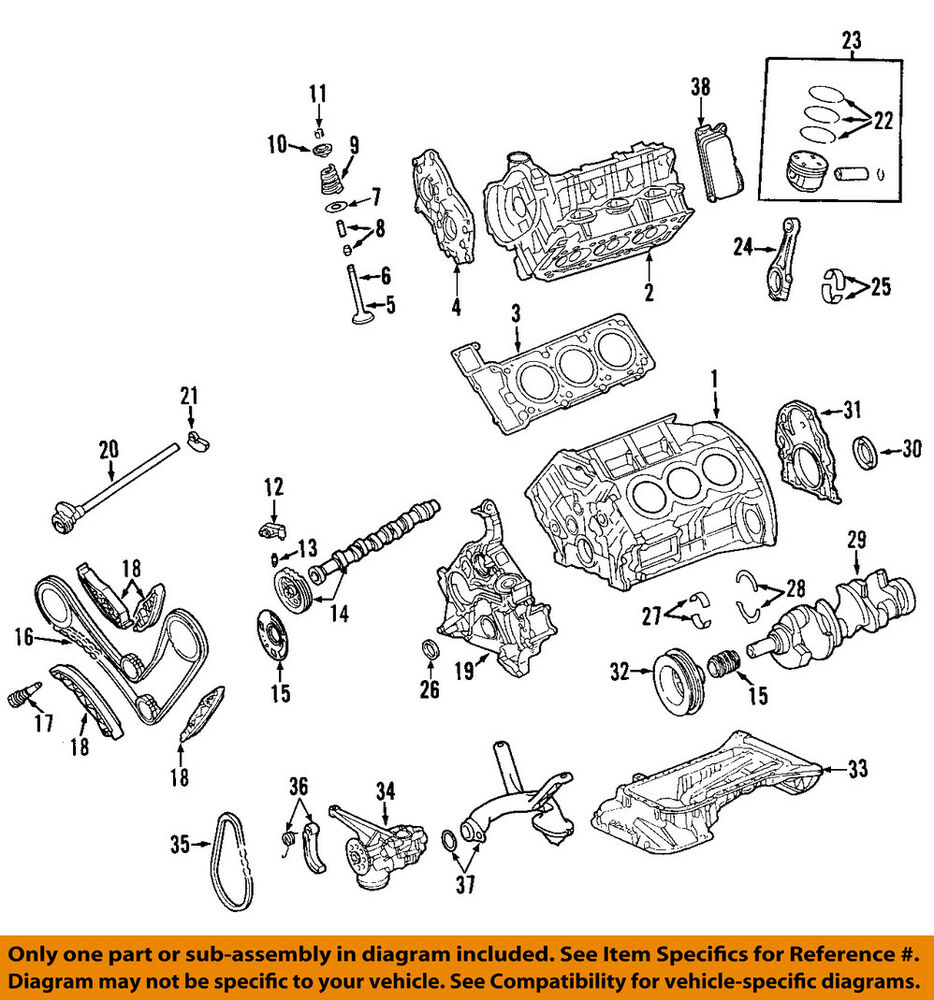 medium resolution of details about jeep chrysler oem 07 08 grand cherokee engine piston 5179423ac