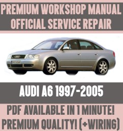details about workshop manual service repair guide for audi a6 1997 2005 wiring  [ 1000 x 1000 Pixel ]