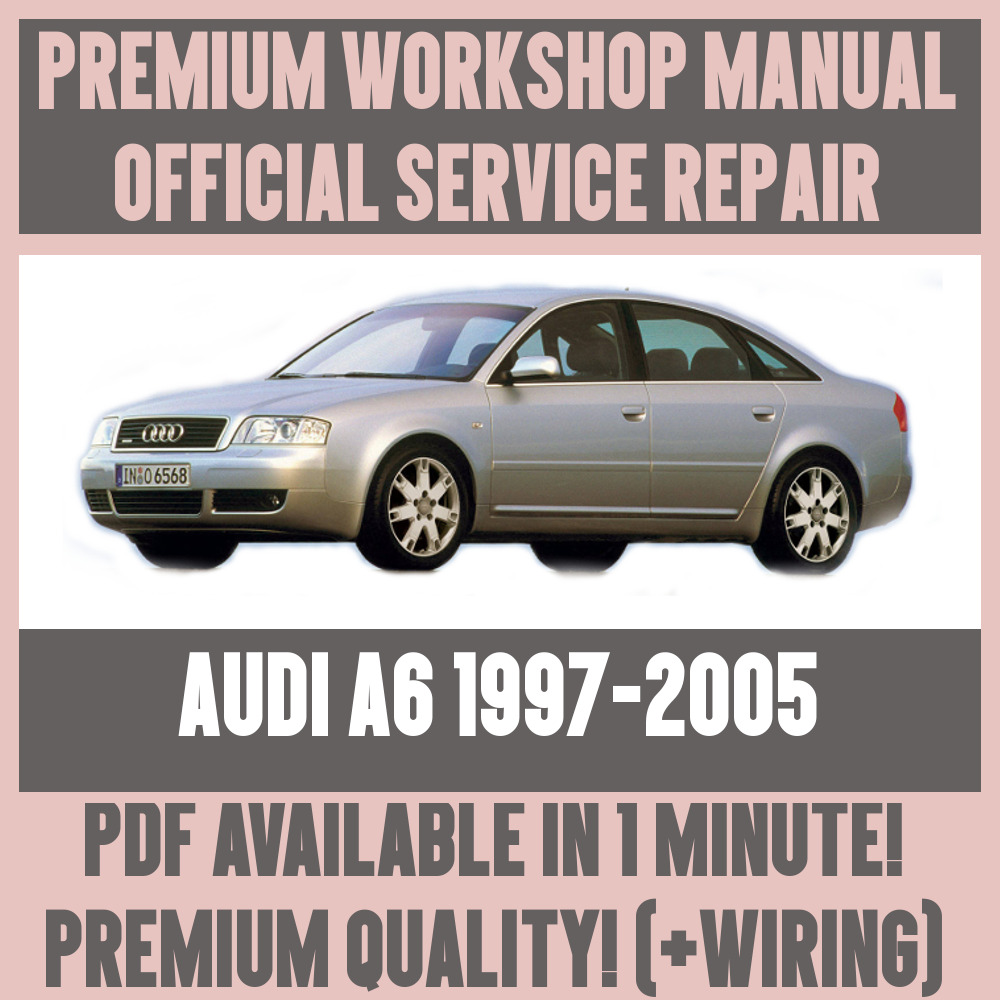 medium resolution of details about workshop manual service repair guide for audi a6 1997 2005 wiring