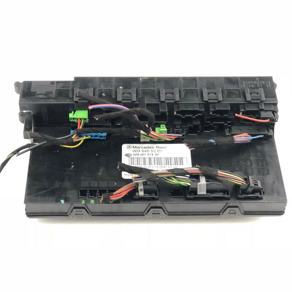 medium resolution of details about 2002 2006 mercedes benz c230 sam fuse box control module p 003 545 52 01 oem