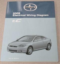 2009 toyota scion tc electrical wiring diagram service manual ebaydetails about 2009 toyota scion tc electrical [ 964 x 1000 Pixel ]