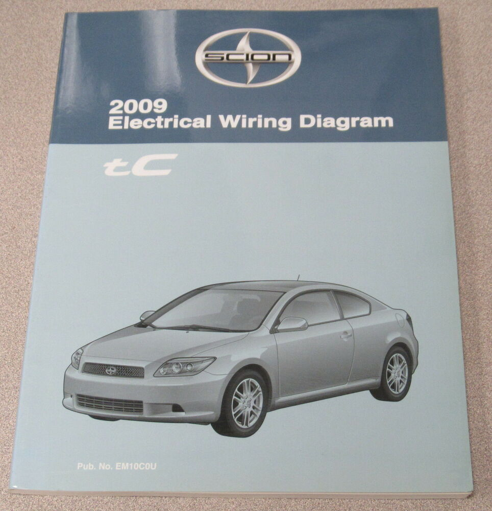 medium resolution of 2009 toyota scion tc electrical wiring diagram service manual ebaydetails about 2009 toyota scion tc electrical
