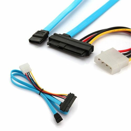 small resolution of details about 70cm 7 pin sata serial to sas 29 pin 4 pin connector power cable lead adapter