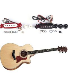 details about guitar sound hole pickup prewired wiring harness for 4 6 string cigar box new [ 1000 x 1000 Pixel ]