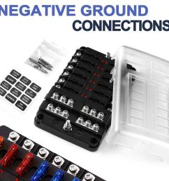 details about 12v 12 way fuse block box holder atc ato blade garavan marine dual battery [ 1000 x 1000 Pixel ]